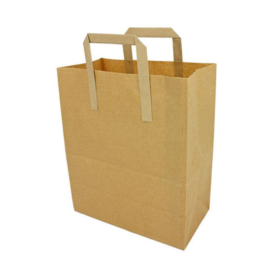 Picture of M G Kraft bag 12,5 x 16