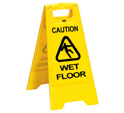 Picture of Wet floor sign  A - FRAME
