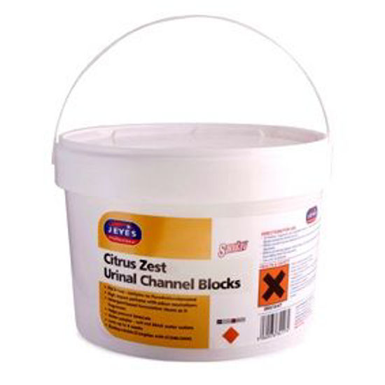 Picture of Jeyes Channel blocks citrus zest 3 kg bucket