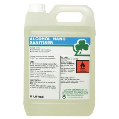 Picture of Alcohol hand sanitiser 5 litre