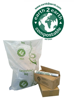Picture of earth2earth COMPOSTABLE REFUSE SACK