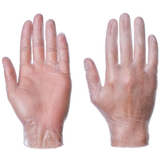 Picture of super touch Vinyl glove powderfree